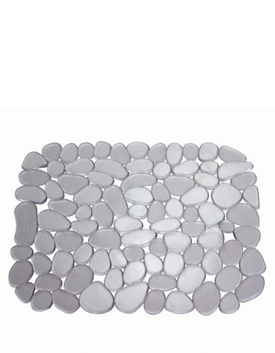 Interdesign Inc Pebblz Sink Mat-CLEAR-One Size