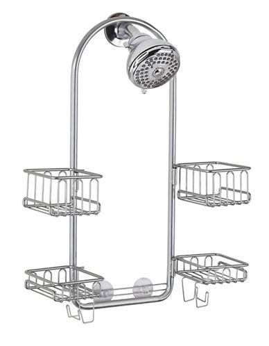 Interdesign Inc Classico Swing Shower Caddy-SILVER-One Size