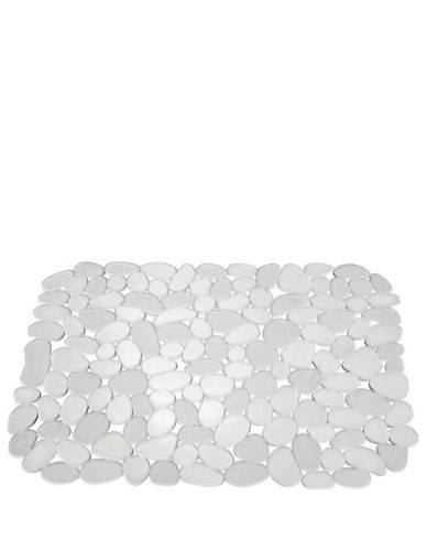 Interdesign Inc Pebblz Large Sink Mat-CLEAR-One Size