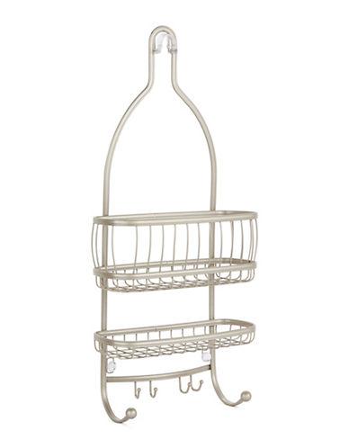 Interdesign Inc Bronzed Shower Caddy-SILVER-One Size