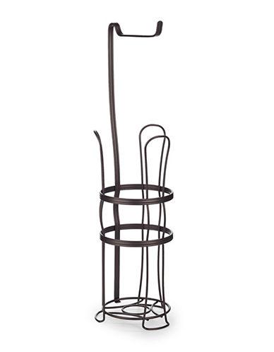 Interdesign Inc Bronze Four-Roll Tissue Holder-BRONZE-One Size