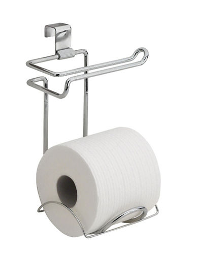 Interdesign Inc Classico Toilet Paper Dispenser-CHROME-One Size