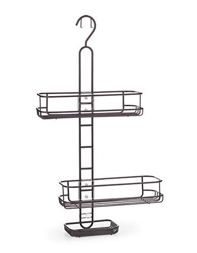 Interdesign Inc Adjustable Shelves Shower Caddy-BRONZE-One Size