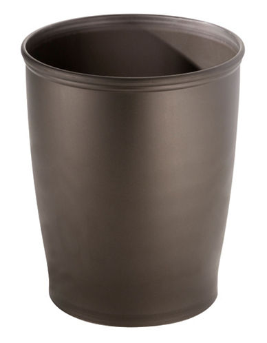 Interdesign Inc 10-Inch Waste Can-BRONZE-One Size