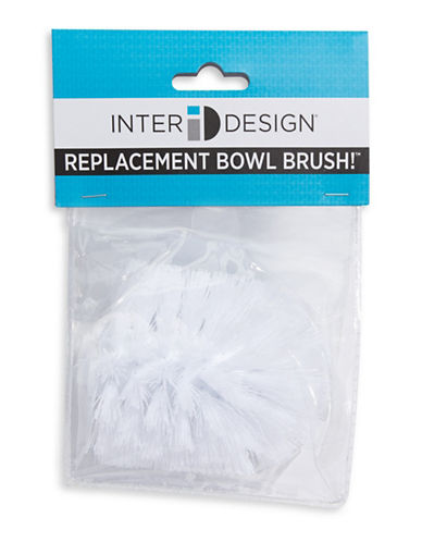 Interdesign Inc Replacement Bowl Brush-WHITE-One Size