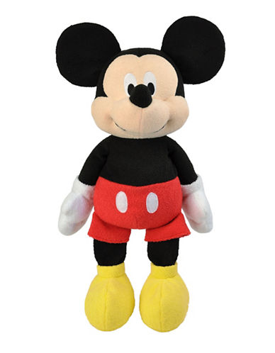 Disney Floppy Mickey Mouse Cuddly Toy-MULTI-One Size