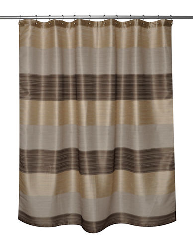 Famous Home Fashions Inc. (Dd) Alys Bronze Shower Curtain-BROWN-One Size