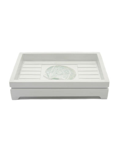 Famous Home Fashions Inc. (Dd) Seaside Soap Dish-WHITE-One Size