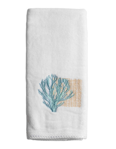 Famous Home Fashions Inc. (Dd) Seaside Hand Towel-WHITE-Hand Towel