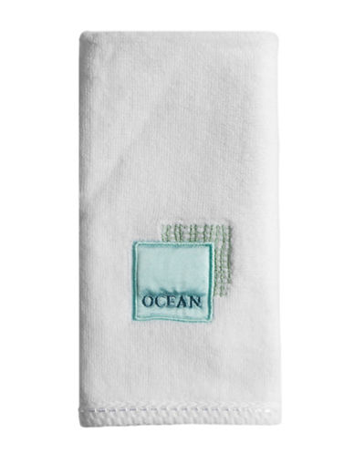 Famous Home Fashions Inc. (Dd) Seaside Fingertip Towel-WHITE-Finger Tip Towel