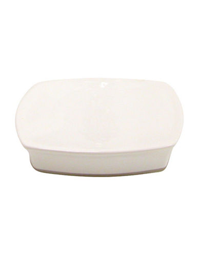 Famous Home Fashions Inc. (Dd) Jewel Soap Dish-WHITE-One Size