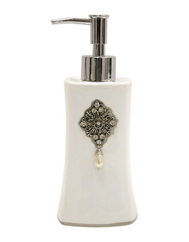 Famous Home Fashions Inc. (Dd) Jewel Lotion Pump-WHITE-One Size