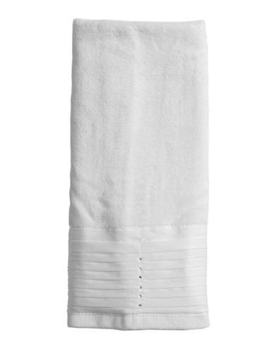 Famous Home Fashions Inc. (Dd) Jewel Hand Towel-WHITE-Hand Towel