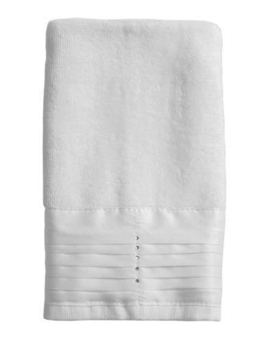 Famous Home Fashions Inc. (Dd) Jewel Fingertip Towel-WHITE-Finger Tip Towel
