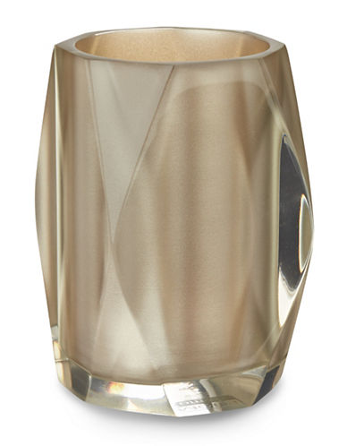 Famous Home Fashions Inc. (Dd) Fiore Faceted Tumbler-CHAMPAGNE-One Size