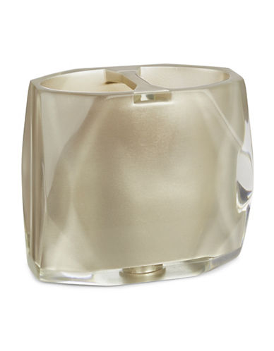 Famous Home Fashions Inc. (Dd) Fiore Toothbrush Holder-CHAMPAGNE-One Size