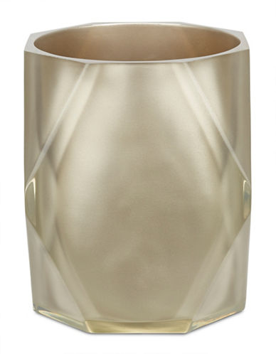 Famous Home Fashions Inc. (Dd) Fiore Sculpted Waste Bin-CHAMPAGNE-One Size