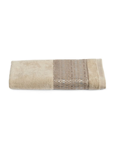 Famous Home Fashions Inc. (Dd) Fiore Fingertip Towel-CHAMPAGNE-Finger Tip Towel
