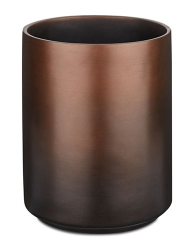 Famous Home Fashions Inc. (Dd) Veruka Bronze Waste Basket-BROWN-One Size
