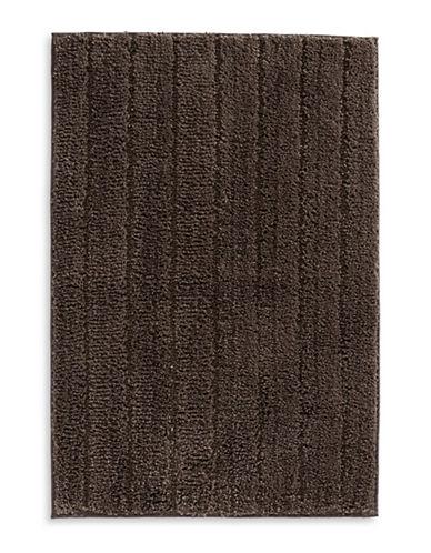 Famous Home Fashions Inc. (Dd) Verucka Stripe Bath Mat-BROWN-Bath Mat