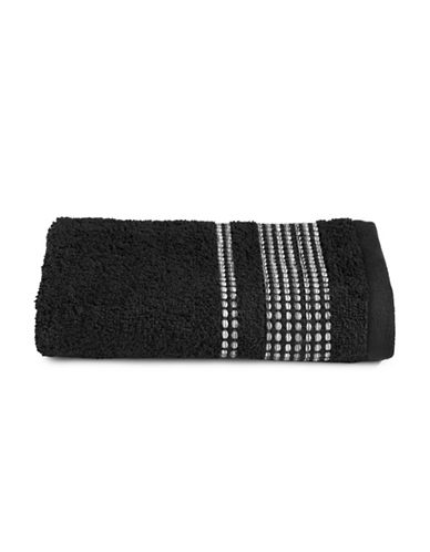 Famous Home Fashions Inc. (Dd) Ambrosi Hand Towel-BLACK-Hand Towel