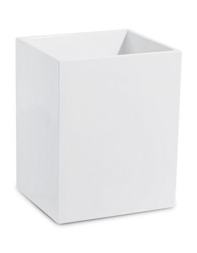 Famous Home Fashions Inc. (Dd) Soho Wastebasket-WHITE-One Size