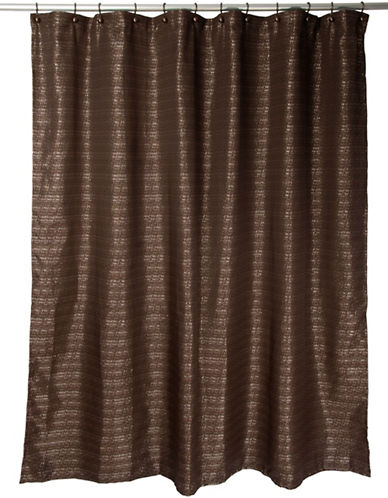 Famous Home Fashions Inc. (Dd) Modena Shower Curtain-BROWN-One Size