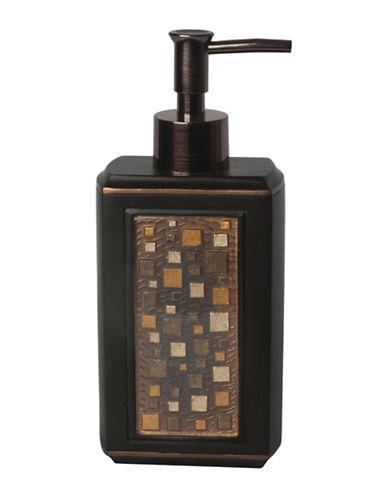 Famous Home Fashions Inc. (Dd) Modena Mosaic Painted Lotion Pump-BROWN-One Size