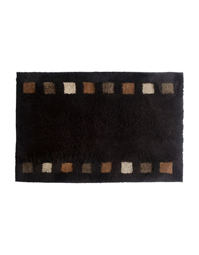 Famous Home Fashions Inc. (Dd) Modena Bath Mat-BROWN-One Size