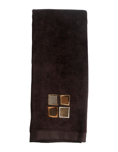 Famous Home Fashions Inc. (Dd) Modena Textured Hand Towel-BROWN-Hand Towel