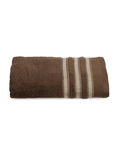 Famous Home Fashions Inc. (Dd) Cotton Bath Towel-BROWN-Bath Towel