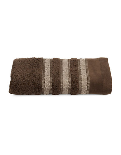 Famous Home Fashions Inc. (Dd) Cotton Hand Towel-BROWN-Hand Towel