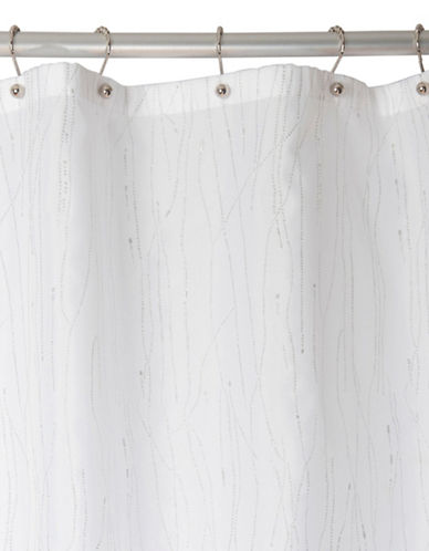 Famous Home Fashions Inc. (Dd) Drizzle Shower Curtain-WHITE-One Size