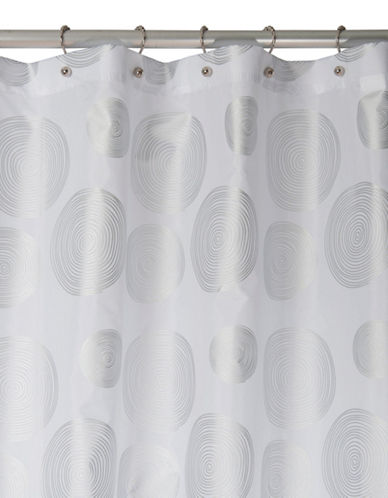 Famous Home Fashions Inc. (Dd) Cirque Shower Curtain-WHITE-One Size
