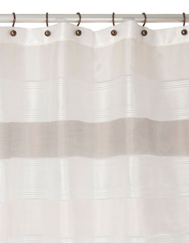 Neo Cream Shower Curtain