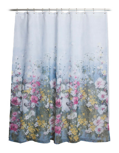 Famous Home Fashions Inc. (Dd) Anna Floral Shower Curtain-PINK-One Size