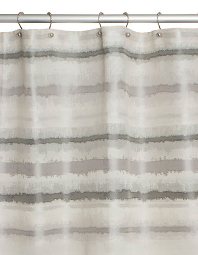 Famous Home Fashions Inc. (Dd) Brooklyn Shower Curtain-GREY-One Size