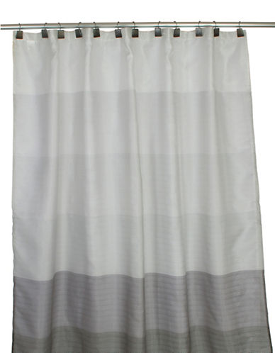 Famous Home Fashions Inc. (Dd) Brayden Shower Curtain-GREY-One Size