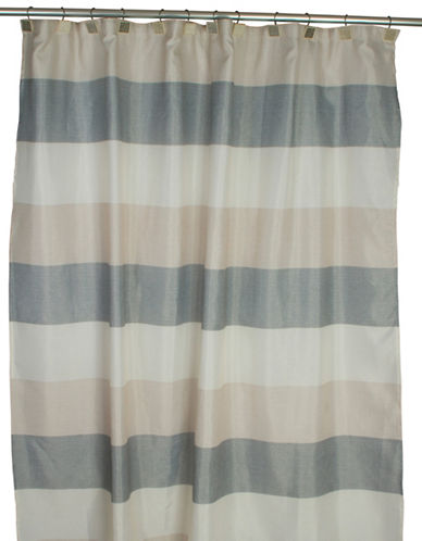 Famous Home Fashions Inc. (Dd) Evan Shower Curtain-EARTH-One Size