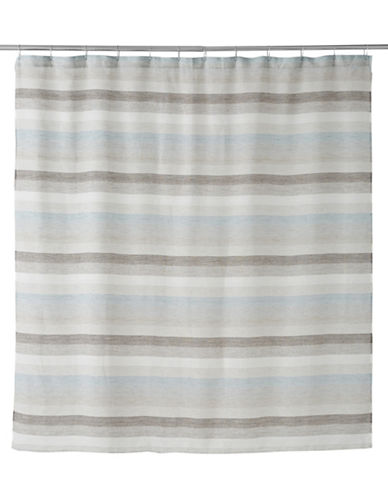 Famous Home Fashions Inc. (Dd) Horizon Shower Curtain-BLUE-One Size