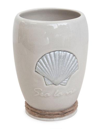 Famous Home Fashions Inc. (Dd) Sea La Vie Ceramic Tumbler-BEIGE-One Size
