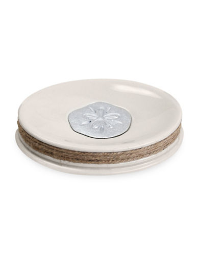 Famous Home Fashions Inc. (Dd) Sea La Vie Ceramic Soap Dish-BEIGE-One Size