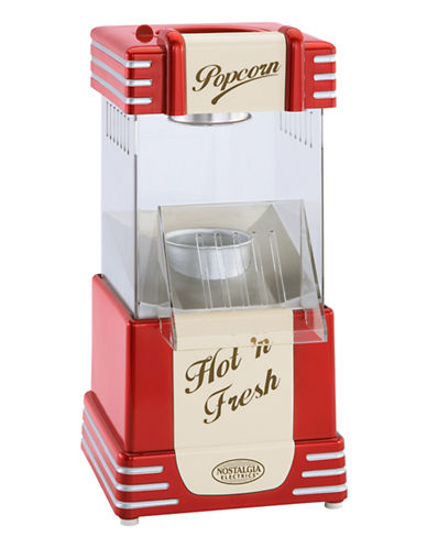 Nostalgia Retro Hot Air Popcorn Maker-RED-One Size