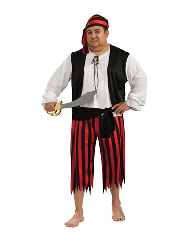 Rubies Costumes Adult  Pirate Plus Size Costume-RED-XX-Large