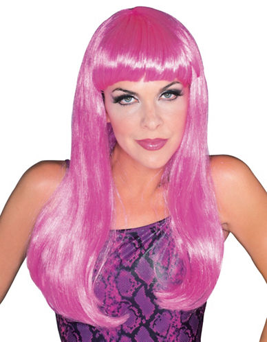 Rubies Costumes Glamour Hot Pink Wig-HOT PINK-One Size