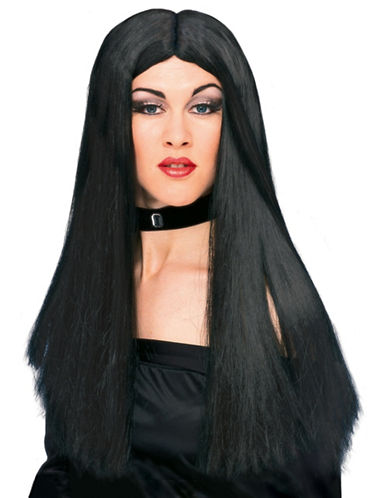 Rubies Costumes Black Witch Wig-BLACK-One Size