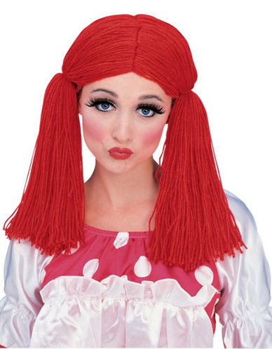 Rubies Costumes Rag Doll Girl Wig-RED-One Size