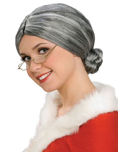 Rubies Costumes Old Lady Wig-GREY-One Size