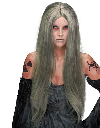 Rubies Costumes Nuclear Witch Wig-GREY-One Size
