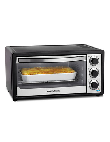 Gourmet Living 21L Convection Toaster Oven-BLACK-One Size